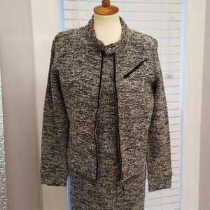 Ralph Lauren Sheath Dress and Jacket Suit, Size L